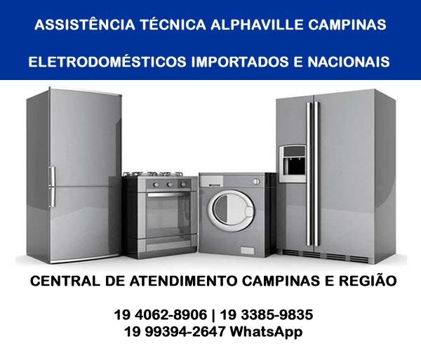 Assistência técnica Alphaville Campinas