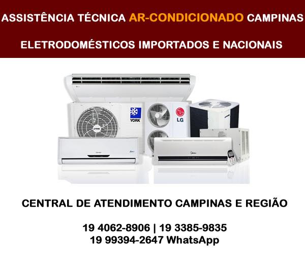 Assistência técnica ar-condicionado Campinas