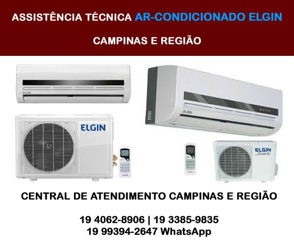 Assistência Técnica Ar-condicionado Elgin Campinas