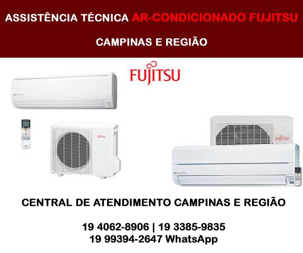 Assistência Técnica Ar-condicionado Fujitsu Campinas