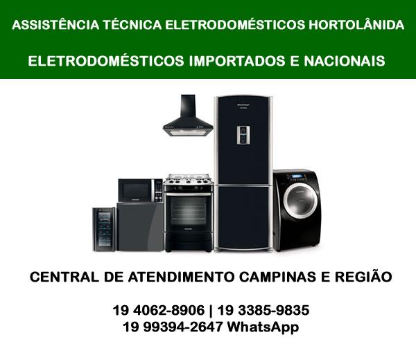 Assistência técnica eletrodomésticos Hortolândia