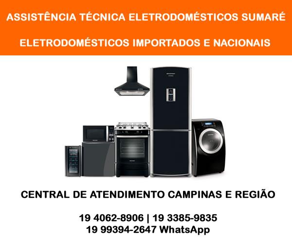 Assistência técnica eletrodomésticos Sumaré