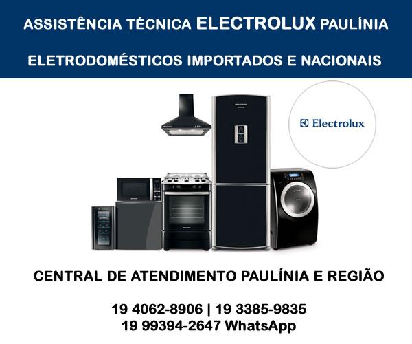 Assistência técnica Electrolux Paulínia